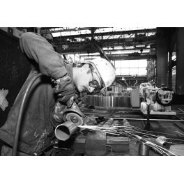 Dans l'usine de Fives, Lille France 1994
